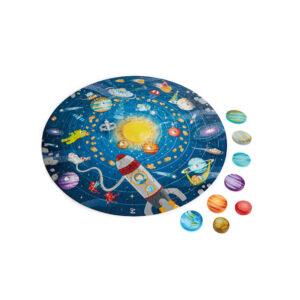 Puzzle Sistema Solar Redondo – Hape