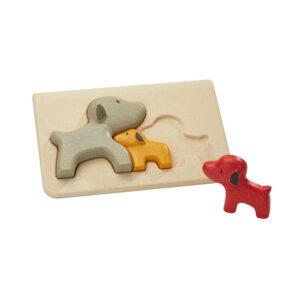 Puzzle Perritos – Plan Toys