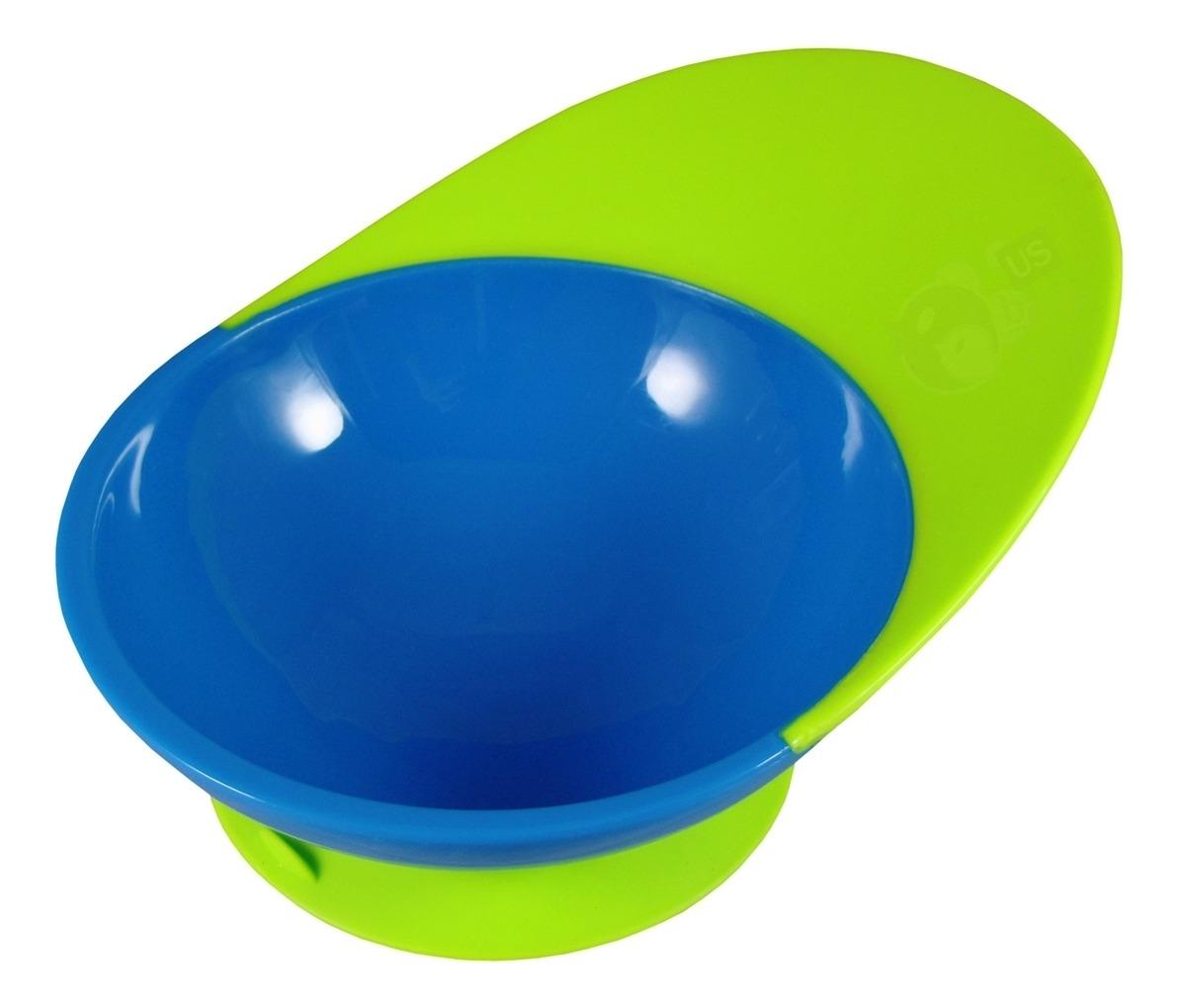 Catch Bowl Antiderrame Verde Azulado/Amarillo – Boon