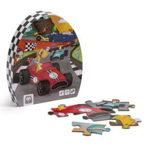 Puzzle 36 Piezas Carrera De Autos – Eureka