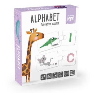 Puzzle Duo Alphabet – Eureka