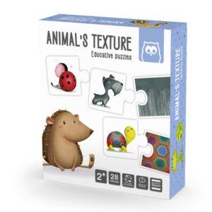Puzzle Duo Animal Texturado – Eureka