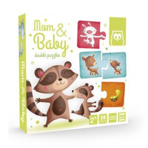 Puzzle Duo Mom & Baby – Eureka