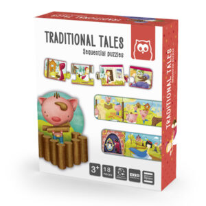 Puzzle Duo Traditional Tales – Eureka