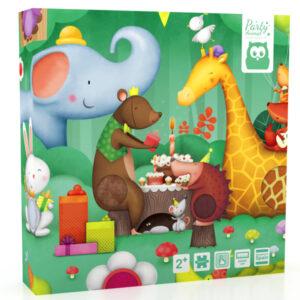 Puzzle Texturado 16 Piezas Animal Party – Eureka