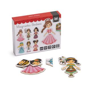 Cuerpos Magnéticos Princesas – Eureka