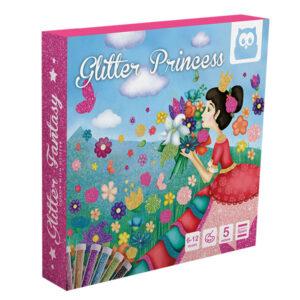 Kit Colorea Con Brillantina Princesas – Eureka