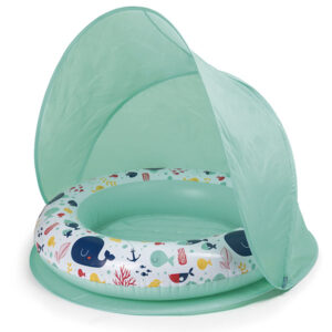Piscina Con Parasol Pop Up Ballena – Eureka