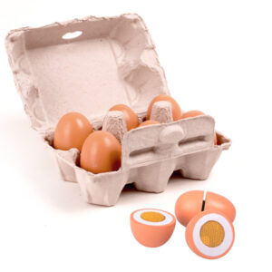 Set 6 Huevos De Madera – Eureka