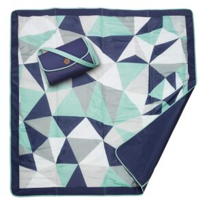 Blanket 5X5 Fractal (Manta Picnic) – Jj Cole