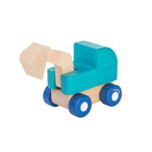 Mini Escavator – Plan Toys
