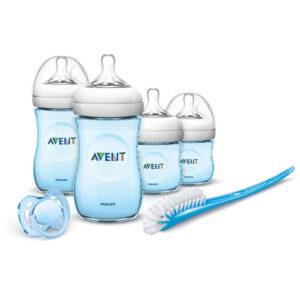 Set Natural De Recien Nacido Azul Avent