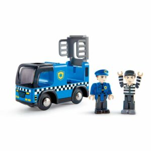 Camión De Policía Con Sirena – Hape