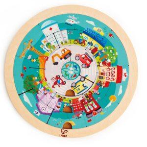 Puzzle Circular Trabajos – Hape
