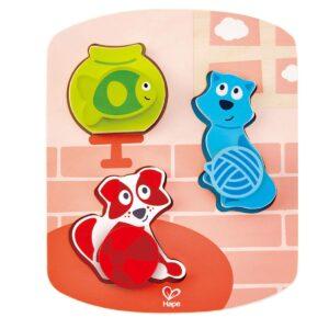 Puzzle Dinamico Mascotas 8 Piezas – Hape