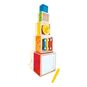 Cubos Musicales Apilables – Hape